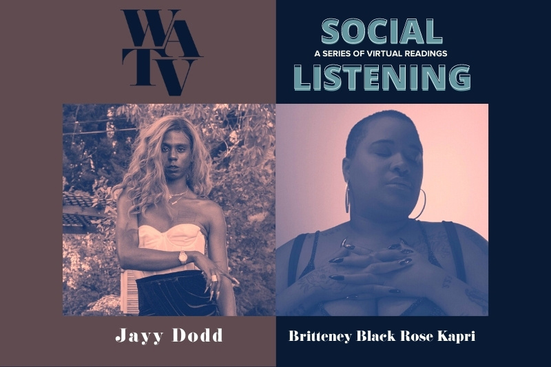 Social Listening #3 with guests Jayy Dodd & Britteney Black Rose Kapri