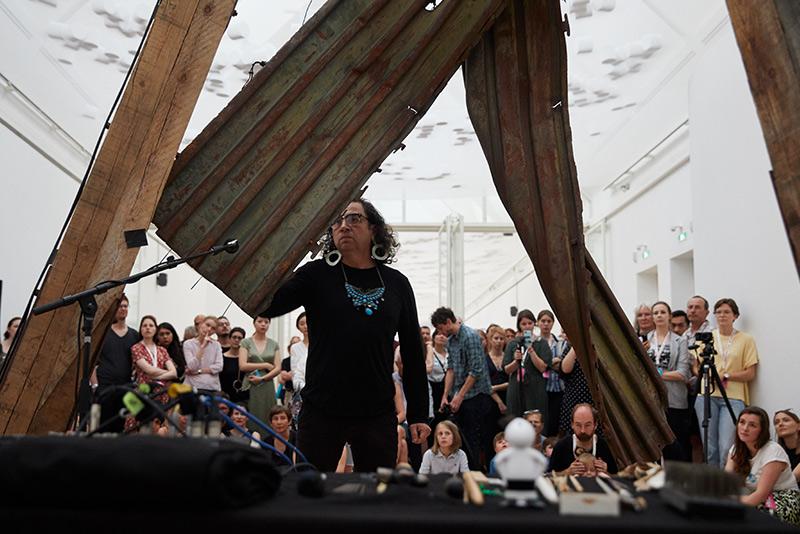 Artist Talk + Performance: Guillermo Galindo